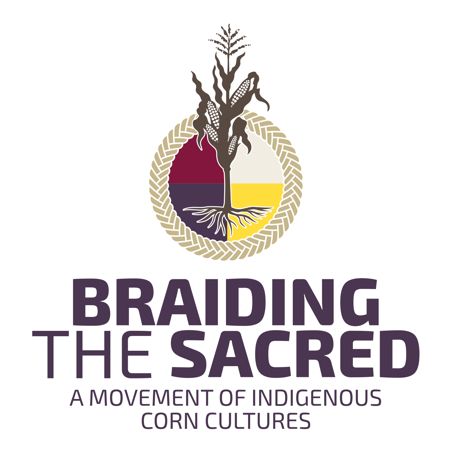 Braiding the Sacred Logo